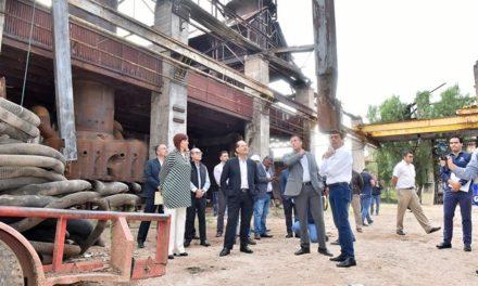 ¡Inicia restauración de nave histórica de los Antiguos Talleres del Ferrocarril!