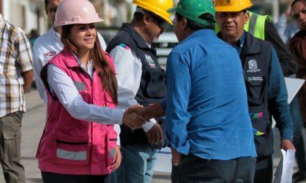 ¡Municipio de Aguascalientes va por el 100% de pavimentación en Los Pericos!