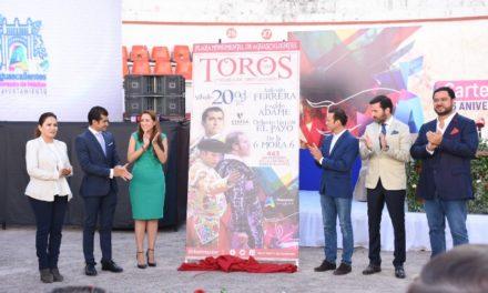 ¡Presentan cartel taurino de lujo para celebrar el 443 Aniversario de la Ciudad!