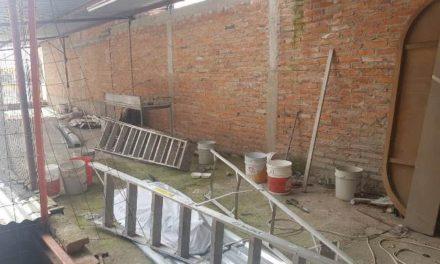 ¡Ancianito murió tras caer de una escalera en una bodega en Aguascalientes!