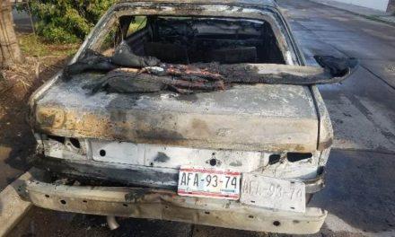 ¡Incendiaron otro automóvil en Aguascalientes!