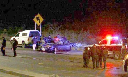 ¡1 muerto y 3 lesionados tras doble carambola entre 8 vehículos en Zacatecas!