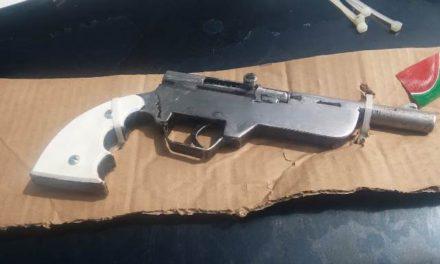 ¡Detuvieron a 2 sujetos con un par de armas de fuego en Aguascalientes!