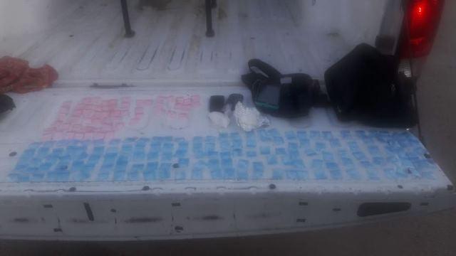 ¡Policías estatales preventivos detuvieron a 3 sujetos con 201 dosis de drogas en Juan Aldama, Zacatecas!