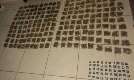 ¡Elementos de la PEP aseguraron 250 dosis de drogas en Apozol, Zacatecas!