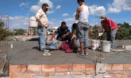 ¡Joven albañil se salvó de morir electrocutado en una obra en San José de Gracia, Aguascalientes!