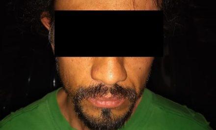 """¡Policías estatales de Aguascalientes detuvieron a vendedor de """"crystal"""" y psicotrópicos!"""