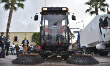 ¡El gobierno de Jesús María continúa equipando el área de limpia y aseo público!