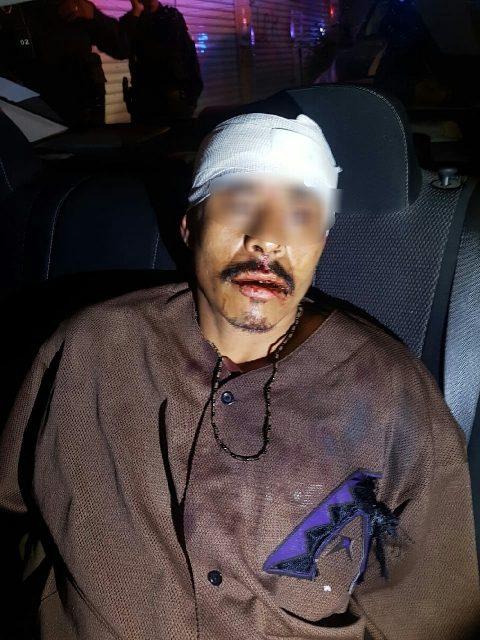 ¡Policías municipales de Aguascalientes rescataron a delincuente que fue agredido por vecinos del Ojocaliente II!