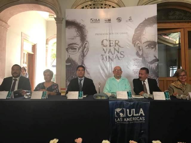 ¡Presentaron el Libro Cervantinas del maestro Felipe San José González!