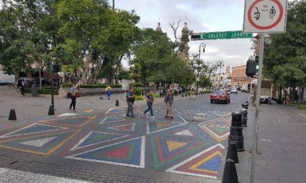 ¡Pasos peatonales de colores distraen y pueden ocasionar accidentes: PVEM!