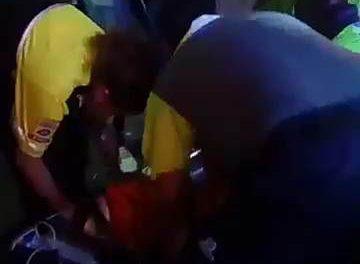 ¡Automóvil embistió una motocicleta en Aguascalientes: 4 lesionados graves!