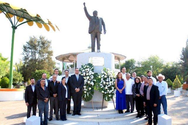 ¡Panistas conmemoran 29 Aniversario Luctuoso de Maquío!