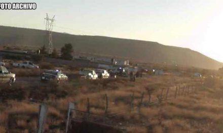 ¡Volcadura de una camioneta dejó al conductor sin vida en Vetagrande, Zacatecas!