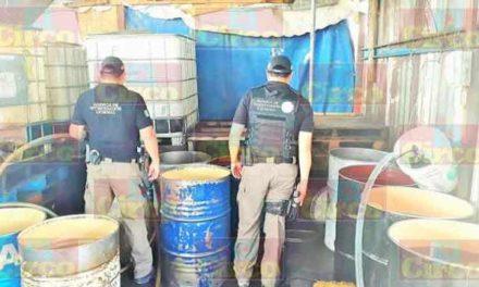 ¡PGR y SEDENA catearon un inmueble y aseguraron 8 mil litros de hidrocarburo ilegal en Lagos de Moreno!