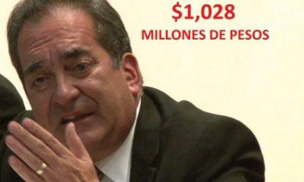 ¡Desvíos con Carlos Lozano de la Torre en fondos federales superaron los mil millones de pesos!