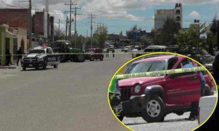 ¡Hombre fue ejecutado a bordo de su camioneta en Fresnillo!