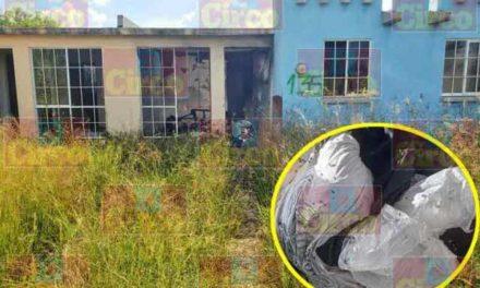 ¡Hallaron a un hombre ejecutado, maniatado y con una bolsa en la cabeza en Lagos de Moreno!
