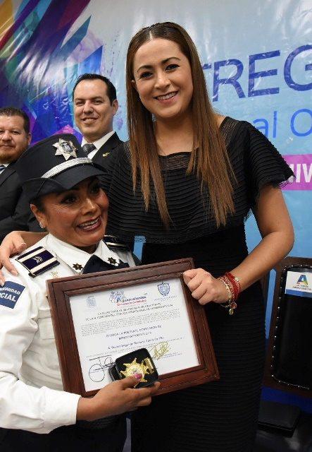 """¡""""Tenemos la mejor corporación policiaca del país"""": Tere Jiménez!"""