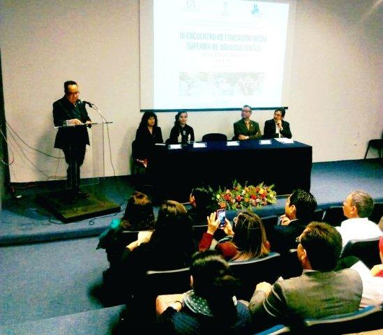 ¡Realizan Tercer Encuentro de Educación Media Superior en Aguascalientes!