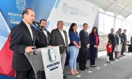 ¡Preside el Gobernador Honores a la Bandera en Jardín de Niños de nueva creación!