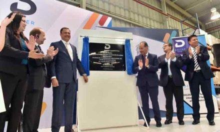 ¡Inaugura el Gobernador nueva inversión para Aguascalientes por 6 MDD!