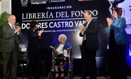 """¡Inaugura el gobernador librería """"Dolores Castro"""" del Fondo de Cultura Económica!"""