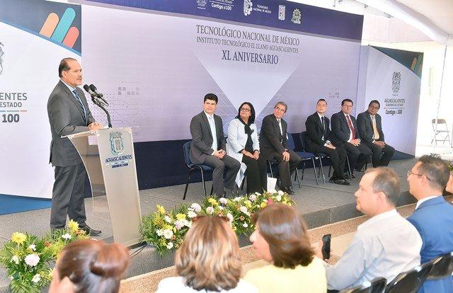 ¡Más de 33 millones de pesos para infraestructura del Instituto Tecnológico El Llano!