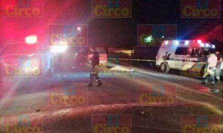 ¡1 muerto y 9 lesionados dejó choque frontal entre 2 camionetas en Unión de San Antonio, Jalisco!