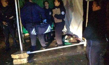 ¡Hombre murió de una broncoaspiración frente al Complejo de Seguridad Pública Municipal de Aguascalientes!