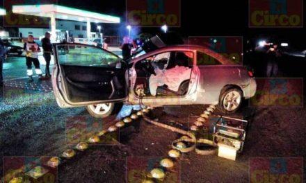 ¡Accidente en Lagos de Moreno dejó un joven muerto y otro lesionado grave!