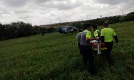 ¡Grave niño de 10 años de edad que fue arrastrado por una yegua en una parcela en Aguascalientes!
