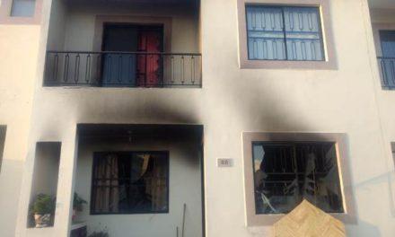 ¡Impresionante explosión en una residencia en Fuentes del Lago en Aguascalientes!
