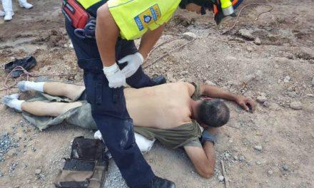 ¡Trabajador resultó lesionado tras caer de 7 metros de altura en el CECyTEA de Calvillo, Aguascalientes!