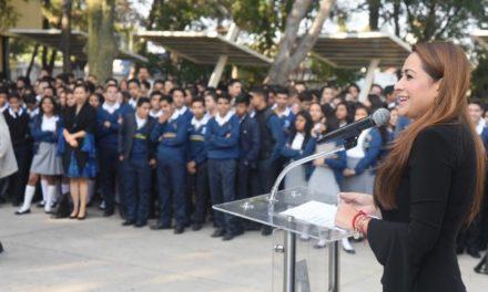 ¡Tere Jiménez reconoce al CBTIS 168 por sus 35 años de servicio en beneficio de la sociedad!