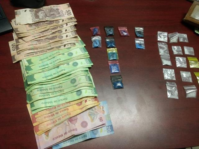 ¡Policías estatales preventivos detuvieron en Zacatecas a sujeto con 24 dosis de droga!
