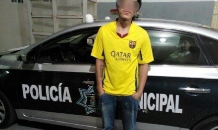 ¡Policías municipales de Aguascalientes detuvieron a sujeto que golpeó una bebé de 16 meses de nacida!