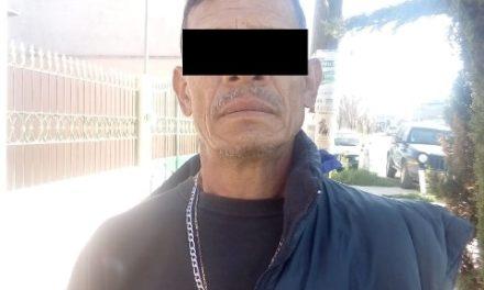 ¡Policías estatales de Aguascalientes detuvieron a un sujeto con medio kilo de marihuana!