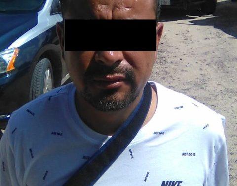¡Tras persecución detuvieron a traficante de psicotrópicos con un arma de fuego en Aguascalientes!