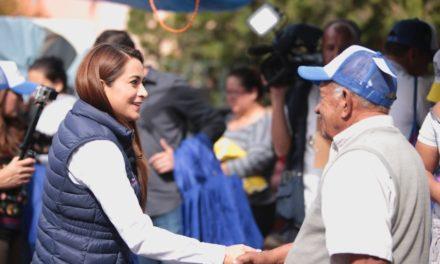 ¡Tere Jiménez comprometida a continuar trabajando por la seguridad y la paz social de Aguascalientes!