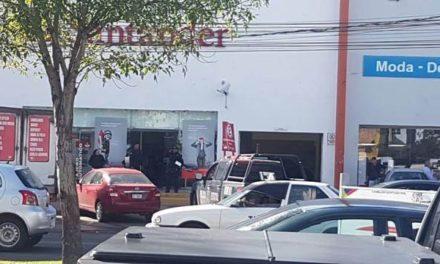 ¡Asaltaron el banco Santander en el fraccionamiento Moderno en Aguascalientes!