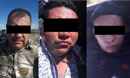 ¡Detuvieron a 3 extorsionadores de Nuevo León que operaban en Aguascalientes!