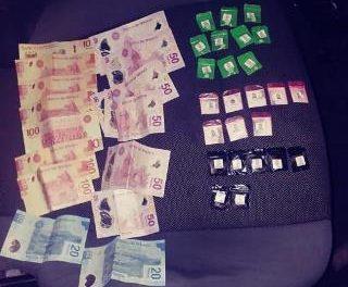 ¡Elementos de la PEP detuvieron en Jerez a un sujeto con 25 dosis de drogas!