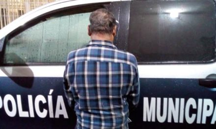 ¡Detuvieron a ebrio sujeto que golpeó a su papá de 80 años de edad en Aguascalientes!