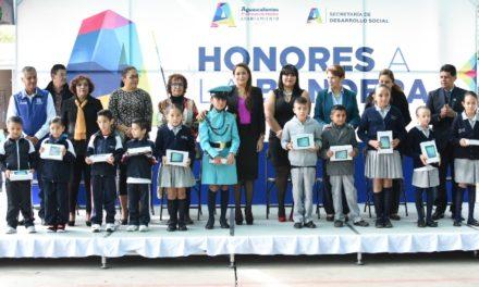 ¡Más de 40 millones de pesos ha canalizado Tere Jiménez en la mejora del entorno escolar!