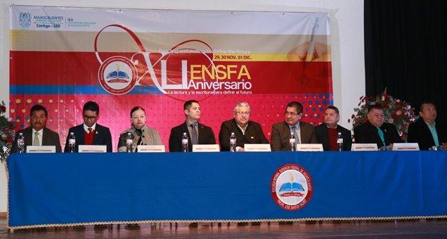 ¡Festejan el XLI Aniversario de la Escuela Normal Superior Federal de Aguascalientes!