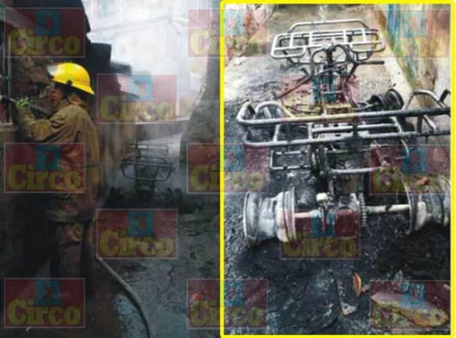 ¡Gran incendio en una chatarrera en Lagos de Moreno!