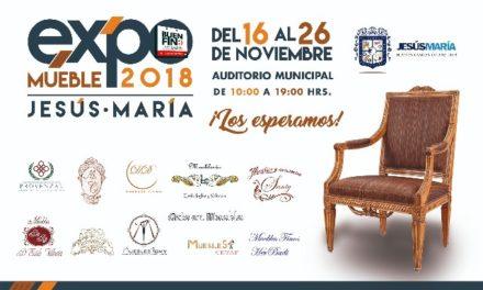 """¡Invita Jesús María a la """"Expo Mueble 2018""""!"""