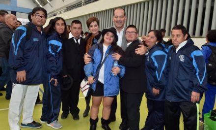 ¡Reconoce el gobernador a los participantes de la Fiesta Nacional Deportiva Paralímpica!