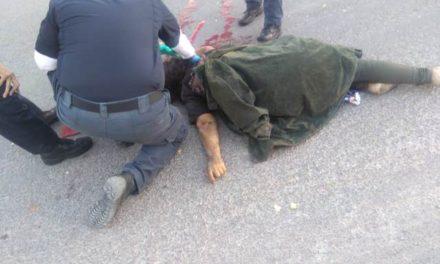¡Pepenadora murió embestida por una camioneta de materiales en Aguascalientes!